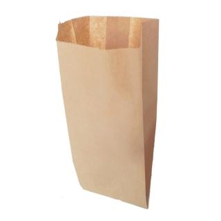 Sacchetto carta alimentare avana cm 22x50