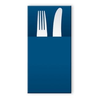 Tovagliolo airlaid pocket blu 40x30