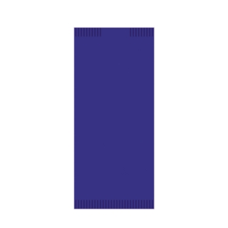 Busta portaposate di carta color blu