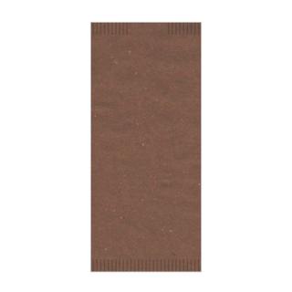 Busta porta posate carta paglia cacao 4seal