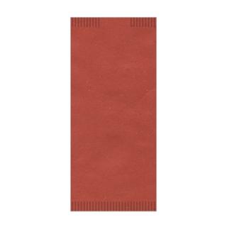 Busta porta posate carta paglia scarlatto 4seal