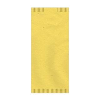Busta porta posate carta paglia giallo  4seal