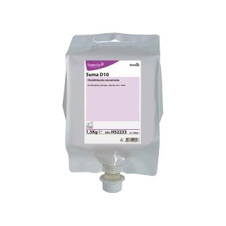 Suma D10 Concentrato disinfettante PMCJhonson Diversey cartuccia da 1,5 Kg