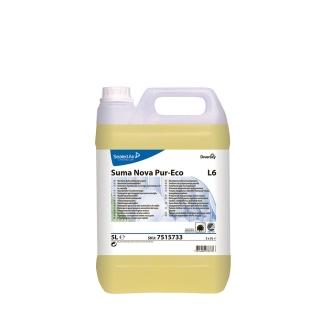 Suma Nova Pur-Eco L6  liquido per lavastoviglie acque dure Johnson Diversey  tanica da 5 litri