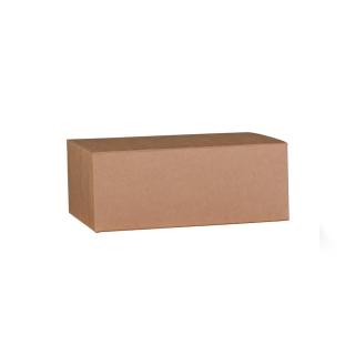 Scatola in cartocino avana naturale  riciclabile cm 30x24x12