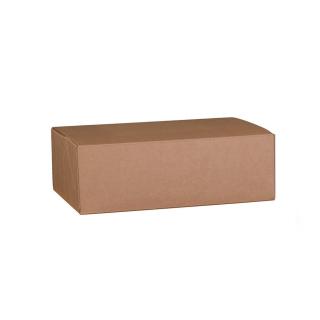 Scatola in cartocino avana naturale  riciclabile cm 35x28x12