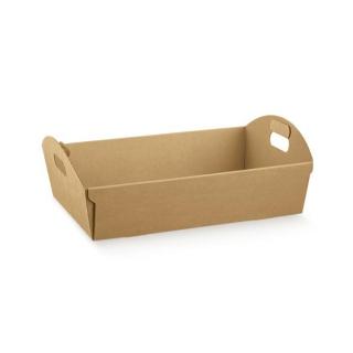 Cesto in cartoncino avana cm 37x26,5x10 riciclabile