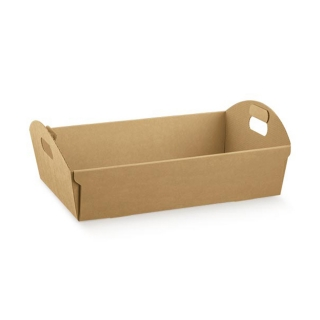 Cesto in cartoncino avana cm 43x30x11 riciclabile