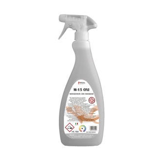M 15 OXI Igienizzante detergente profumato con PEROSSIDO DI IDROGENO flaccone da 750ml