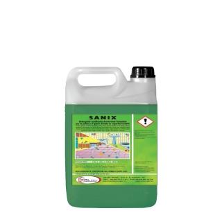 Sanix detergente sanificante antimicotico  per pavimenti tanica da 5kg