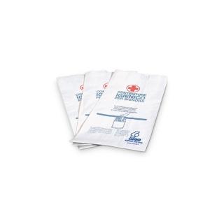 Sacchetti igienici ovatta cellulosa 1 Velo liscio formato: cm.12x28
