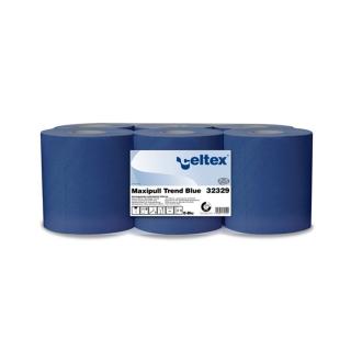 Rotolo di carta blu 2 veli ad estrazione interna  mt 108 h cm 20 Ecolabel