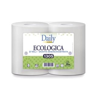 Bobina poliunto carta riciclata microcollata kg 2,5 2 veli 800 strappi