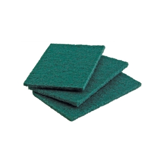 Spugna abrasiva verde green 90 Arix cm 15x20