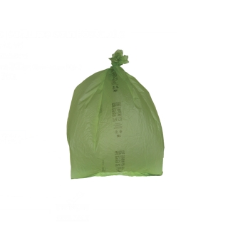 Sacco pattumiera in mater-bi cm 70x70 gr 20,8