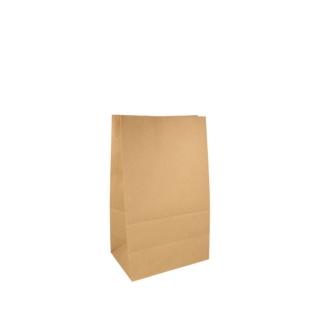 Sacchetto avana senza manici cm. 14x8 h24 gr 80 fondo piatto riciclabile e biodegradabile