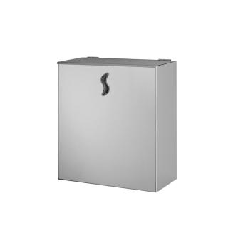Dispenser pattumiera murale inox  AISI 304 sat 10 LT