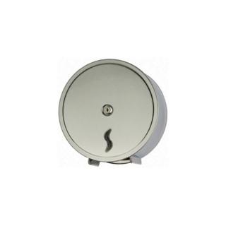 Distributore di carta igienica mini jumbo inox brillante AISI 430