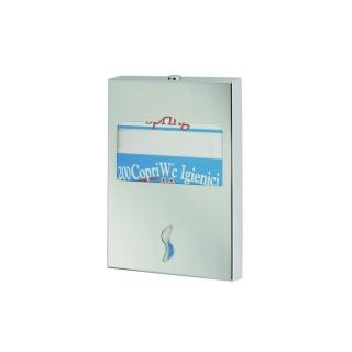 Dispenser carta copriwater inox satinato AISI 304
