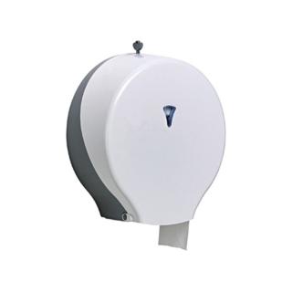 Distributore di carta igienica maxi jumbo bianco