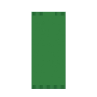 Busta portaposate di carta color verde