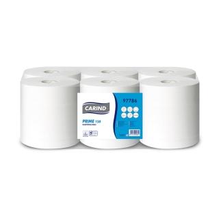 Asciugamani a rotolo 2 veli microcollato mt 150 per dispenser