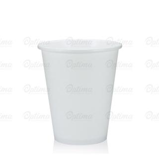 Bicchiere bevanda calda bianco in cartoncino politenato 9oz 200 ml