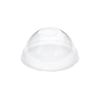 Coperchio dome con foro per bicchiere pet cc 575