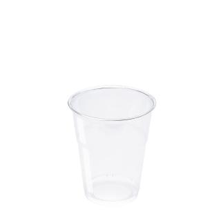 Bicchiere in Pet trasparente cc 200