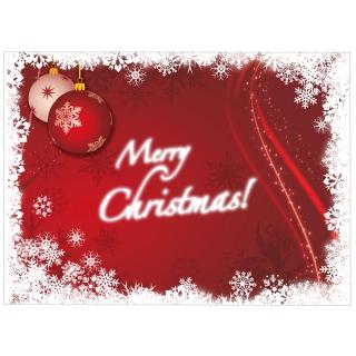 Tovaglietta 30x40 Merry Christmas