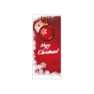 Busta portaposate Merry Christmas 11x25