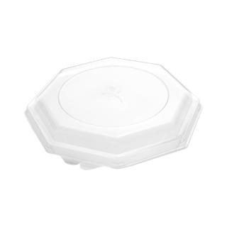 Coperchio per piatto ottogonale cm 24x24
