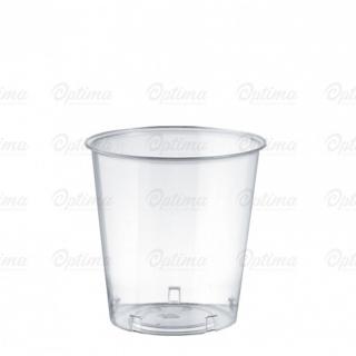 Bicchiere Cristal trasparente cc 300 base larga