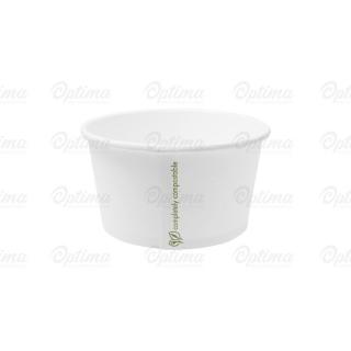 Contenitore di cartoncinio bio per zuppa ml 350  12 oz