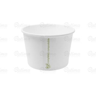 Contenitore di cartoncinio bio per zuppa ml 470  16 oz