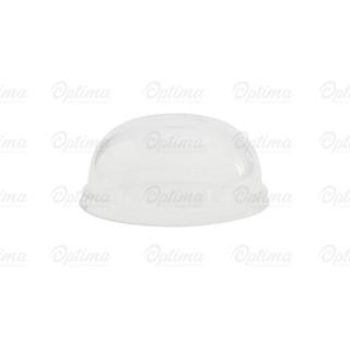 Coperchio dome PLA per contenitore di cartoncinio bio per zuppa 12/16/24 oz