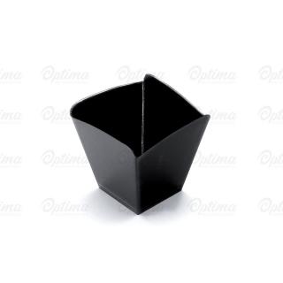 Coppetta Onda nera cm 5,9x5,9x5,8 cc 95