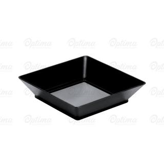 Vassoio Small Plate nero cm 6,5x6,5x1,6